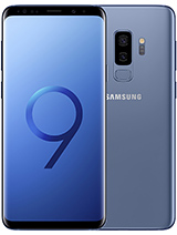 Samsung galaxy s9 plus blue